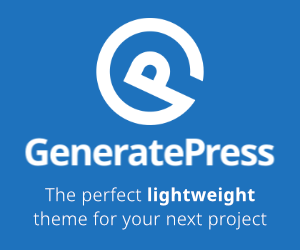 GeneratePress - The perfect lightweight theme for your next project