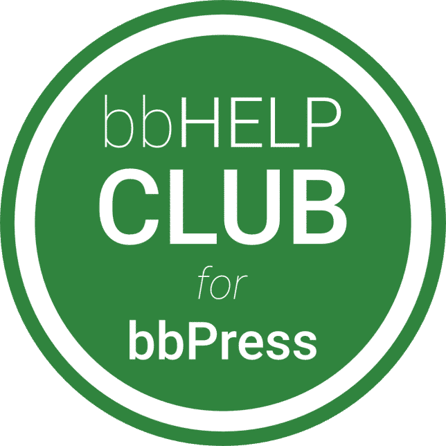 bbHelp Club for bbPress Logo